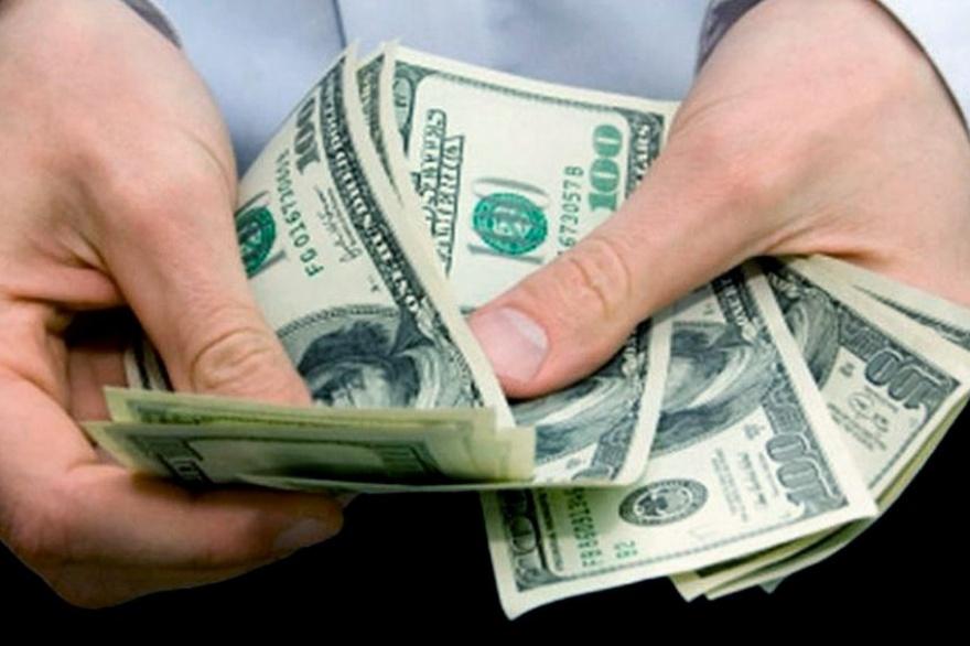 Fuerte suba del dólar blue